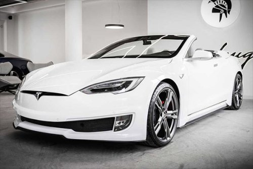 Ares Tesla Model S Convertible | Infinity Masculine