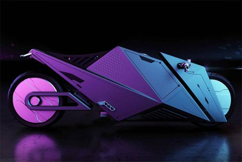 Rimac Hyper Cyber Motorcycle Concept | Infinity Masculine