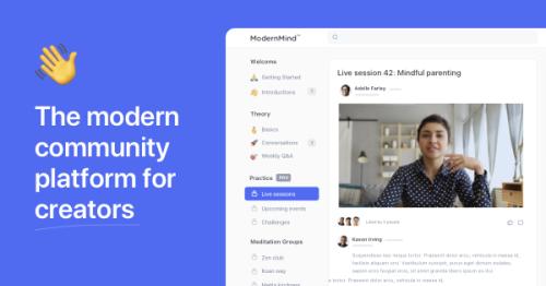 Circle: The modern community platform for creators