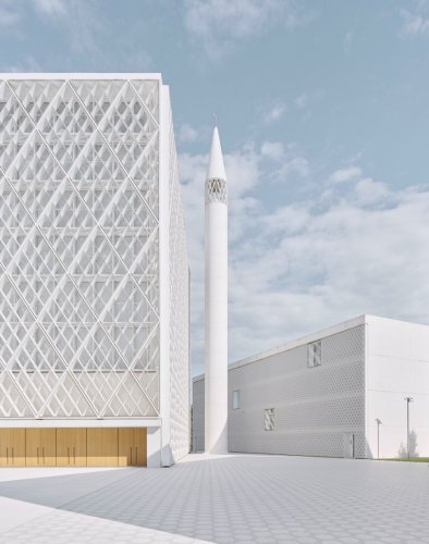 Islamic Religious and Cultural Center in Ljubljana by Bevk Perović Arhitekti