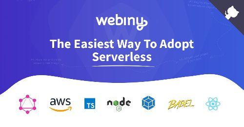 Open-Source Serverless CMS and Serverless Application Framework | Webiny