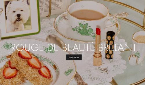 Réalité augmentée : des looks beauté personnalisés chez Gucci Beauty grâce à la magie de Snapchat…