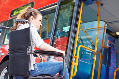 How to Facilitate Disabled People Commute, Take a Taxi, or Rideshare