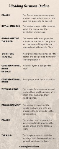 9 Wedding Sermons (2018 Outline & Free Download)