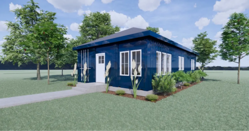 This company is turning shipping containers into sustainable tiny homes