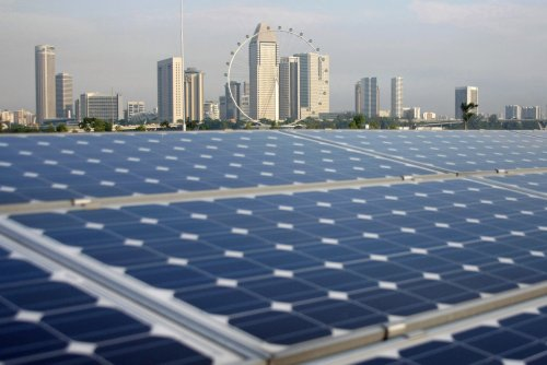 Lessons from Singapore: How to generate solar power in a city without much space