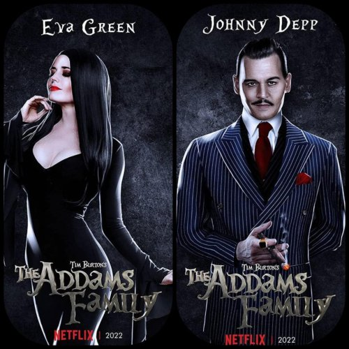 Netflix Reportedly Blocking Johnny Depp From Starring In Addams Family Show