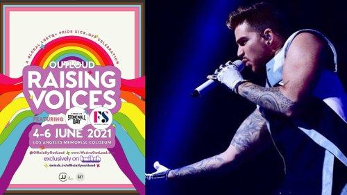 Adam Lambert will perform live at L.A. PRIDE event