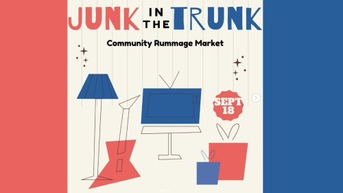 'Junk in the Trunk' rummage sale is back