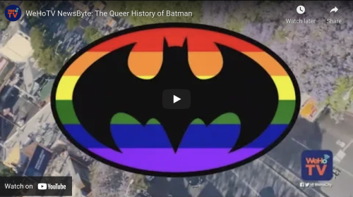 WATCH: The queer history of Batman
