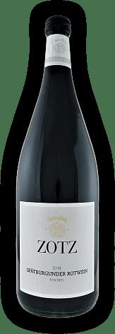 Julius Zotz, Spätburgunder Rotwein, Qualitätswein, trocken, 2018, Baden