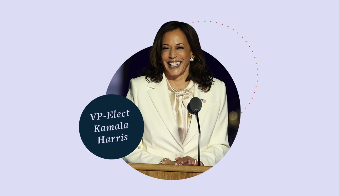 Vice President-Elect Kamala Harris Is Making History—Here's How That Impacts Your Well-Being
