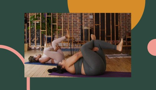 This 20-Minute Gentle Yoga Flow Is Exactly What Your Burnt Out Body and Brain Have Been Begging For