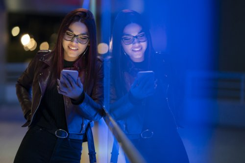 What You Can Do About the Purple Tint Created by the Digital-Relief Coating on Your Blue-Light Blocking Eyeglasses