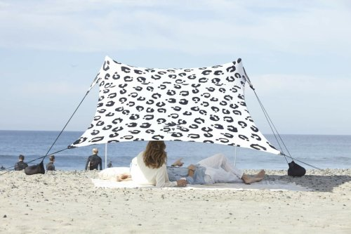 Forget Umbrellas, the Neso Sun Shade Is a Better Way To Stay Cool and Protected on the Beach