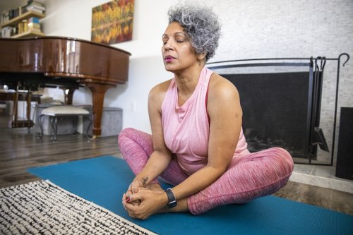 'I'm a Yoga Teacher Over 50, and These Are My Favorite Poses That Are Easy on the Joints'