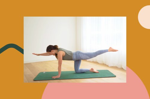 This Pilates for Posture Workout Gets You Standing Taller in 10 Minutes