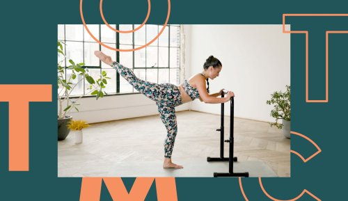This 20-Minute Barre Workout Challenges You To the Hardest Cardio Plank Series of Your Life