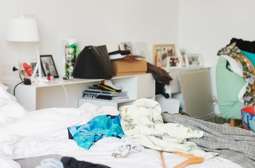 In Defense of Living In a State of Disorganized, Cluttered Disarray, According to Science