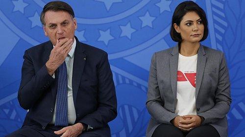 Bolsonaros Frau ließ sich in den USA gegen Corona impfen