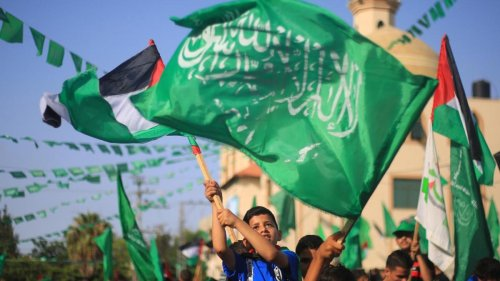 Große Koalition verbietet Hamas-Flaggen
