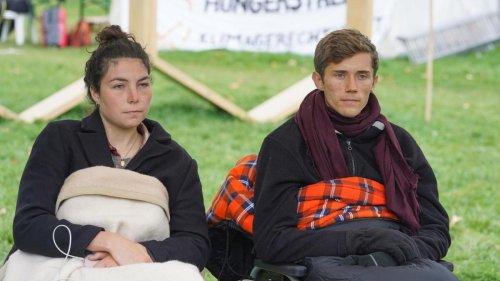 Hungernde Klima-Aktivisten verschärfen ihr Ultimatum an Scholz mit einem Durststreik