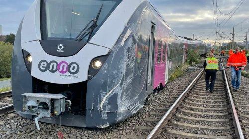 Zugentgleisung nach Rangierunfall bei Wolfsburg