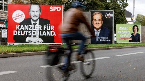 SPD 25, Union 23 – Der Vorsprung schmilzt