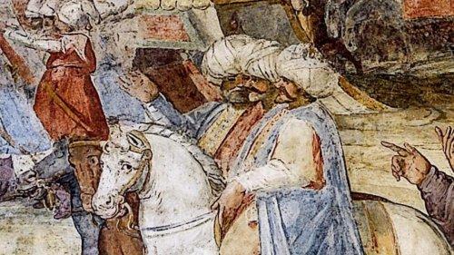 Die Türken spießten die Köpfe der Johanniter-Ritter auf Lanzen auf