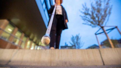 Blinde waren in Tests um 18 Prozent schneller unterwegs