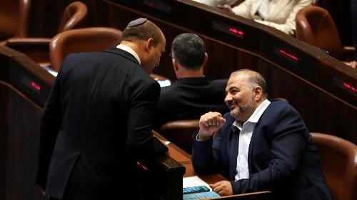 Hauchdünne Mehrheit im Parlament für Israels neue Regierung