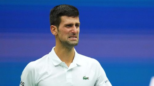 Unter Tränen stemmt sich Djokovic vergeblich gegen die Niederlage