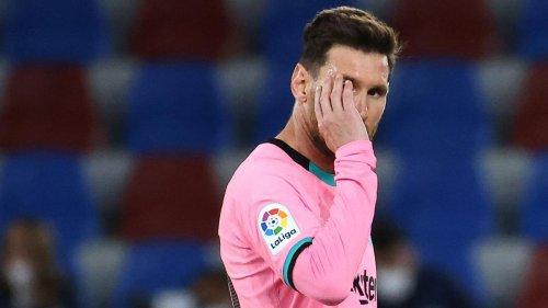 In der 83. Minute sind Barcelonas Titelträume vorerst vorbei