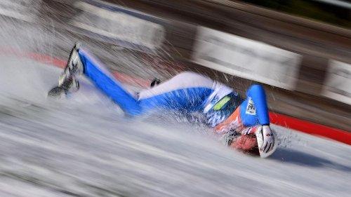 Skispringer Tande aus dem Krankenhaus entlassen