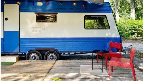 Was man aus muffigen Wohnwagen alles herausholen kann
