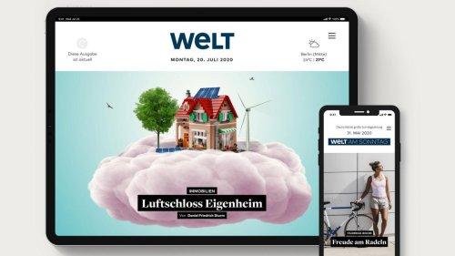 WELT Edition – unsere digitale Zeitung in neuem Gewand