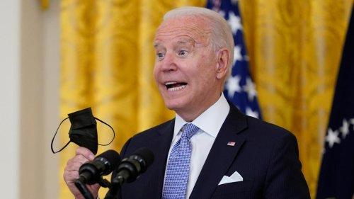 Mit Nationalstolz fleht Biden sein Volk an