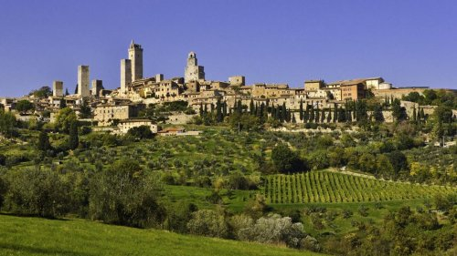 San Gimignano war das Manhattan des Mittelalters