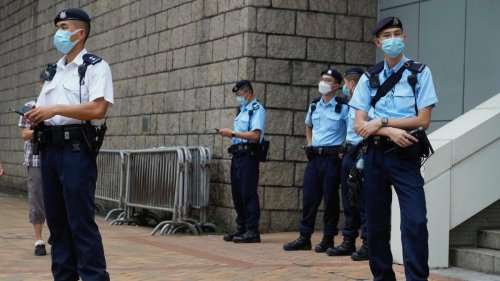 Erster Schuldspruch in Hongkong nach umstrittenem Sicherheitsgesetz