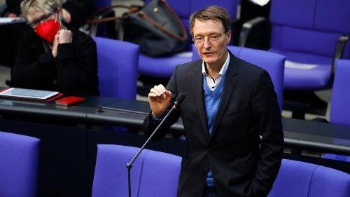 """Lauterbach fordert """"letzten strengen Lockdown"""" bis Ende Mai"""