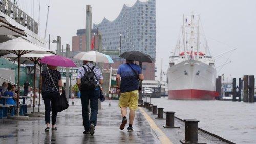 DWD warnt vor Starkregen und Gewittern in Norddeutschland und Bayern