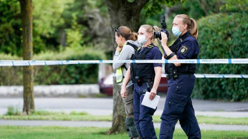 Drei Schwerverletzte bei Schüssen in schwedischer Kleinstadt