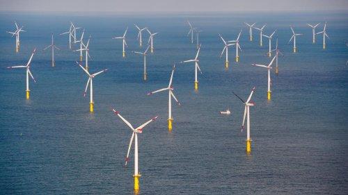 Flaute auf der Nordsee – Windenergieanlagen liefern weniger Strom