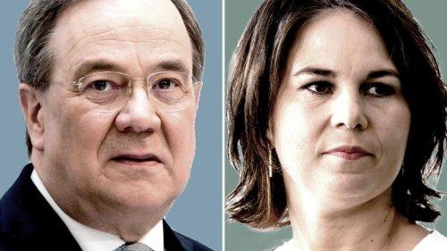 Laschet und Baerbock stürzen auf historisches Tief ab