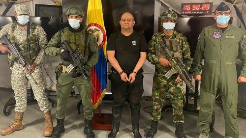 Kolumbiens meistgesuchter Drogenboss festgenommen