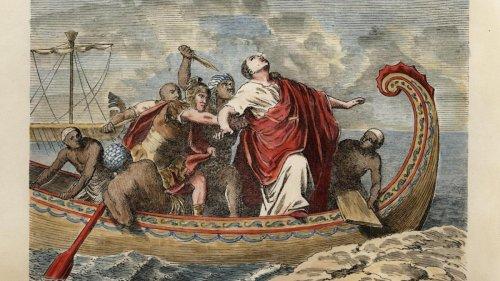 Als man Caesar den Kopf seines Gegners präsentierte, soll er geweint haben