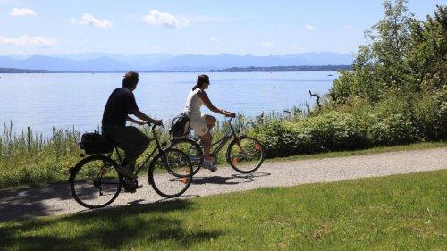 Mit dem Fahrrad einmal rund um den Starnberger See