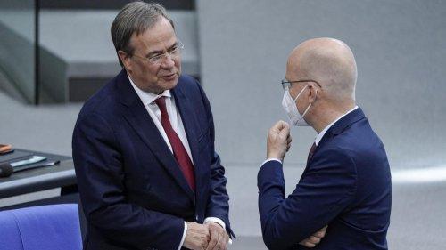 Trotz Gespräch mit Laschet – Brinkhaus will als Fraktionschef kandidieren