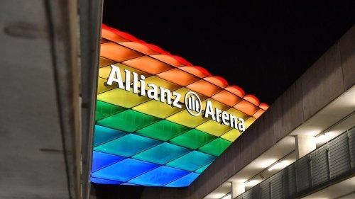 Münchens Stadion in Regenbogenfarben - OB will Brief an Uefa schreiben