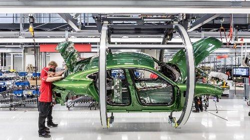 Die Sci-Fi-Fabrik – so entsteht der Porsche Taycan